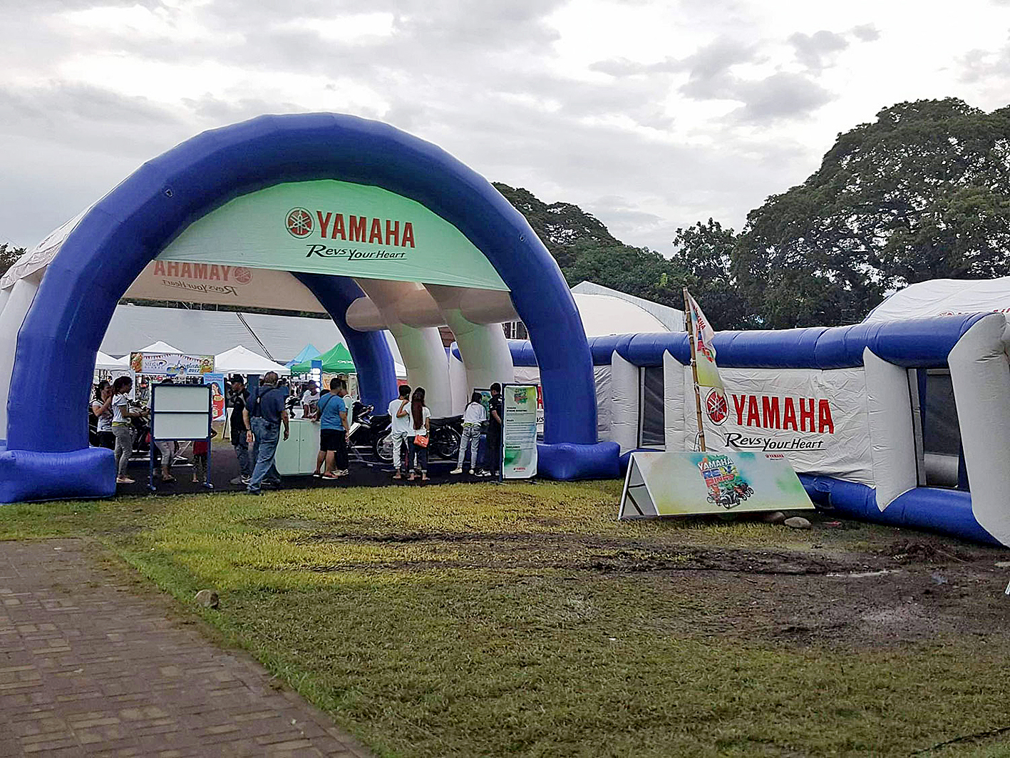 tenda balon yamaha