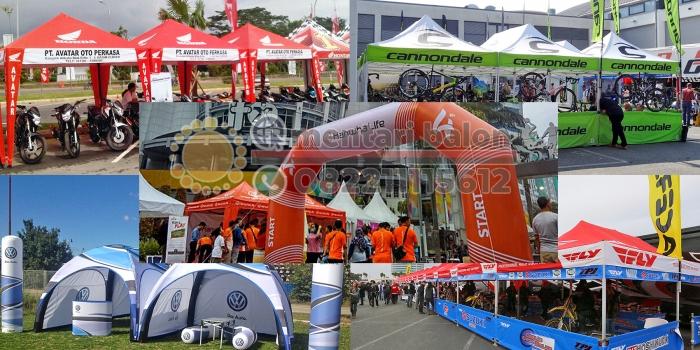 Tenda Lipat, Tenda Kerucut, Tenda Untuk Pameran Event