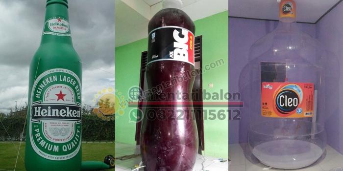 Balon Botol Jakarta, Tangerang, Banten, Bekasi, Depok, Bogor