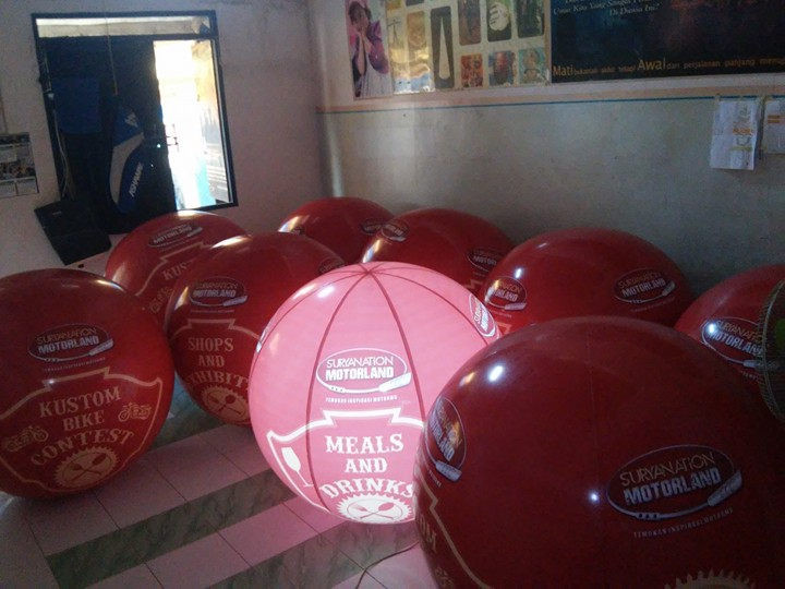 balon LED motorland