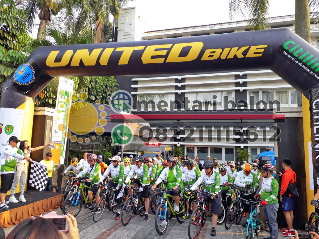 balon gapura united bike