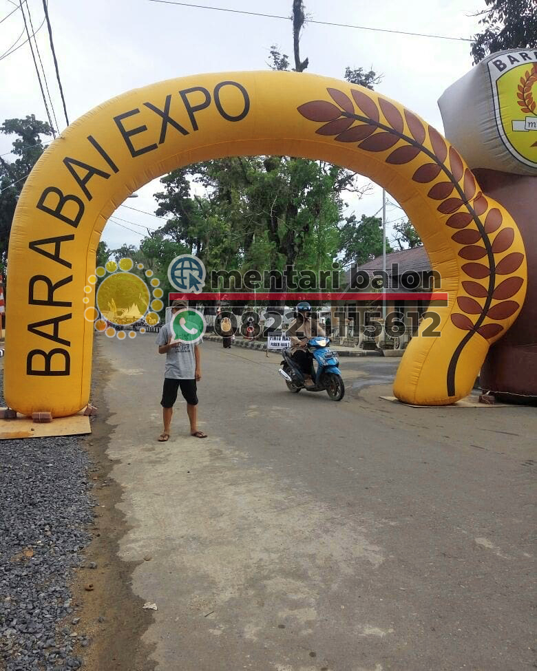 balon gate barabai expo
