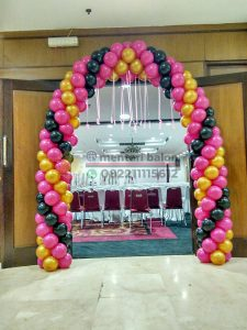 balon gate dekorasi ruangan