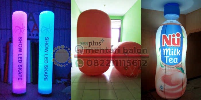 Jual Balon LED Harga Murah / Balon Light Semarang Area Jawa Tengah