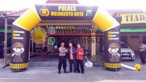 balon gate polres