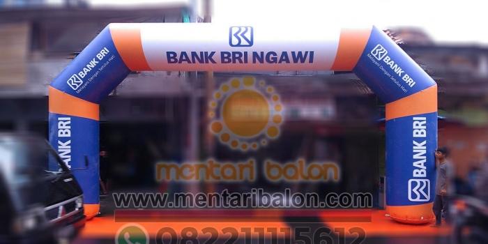 Jual Balon Bank BRI, BCA, BTN, BNI, BI, MANDIRI, DANAMON , BPD DLL