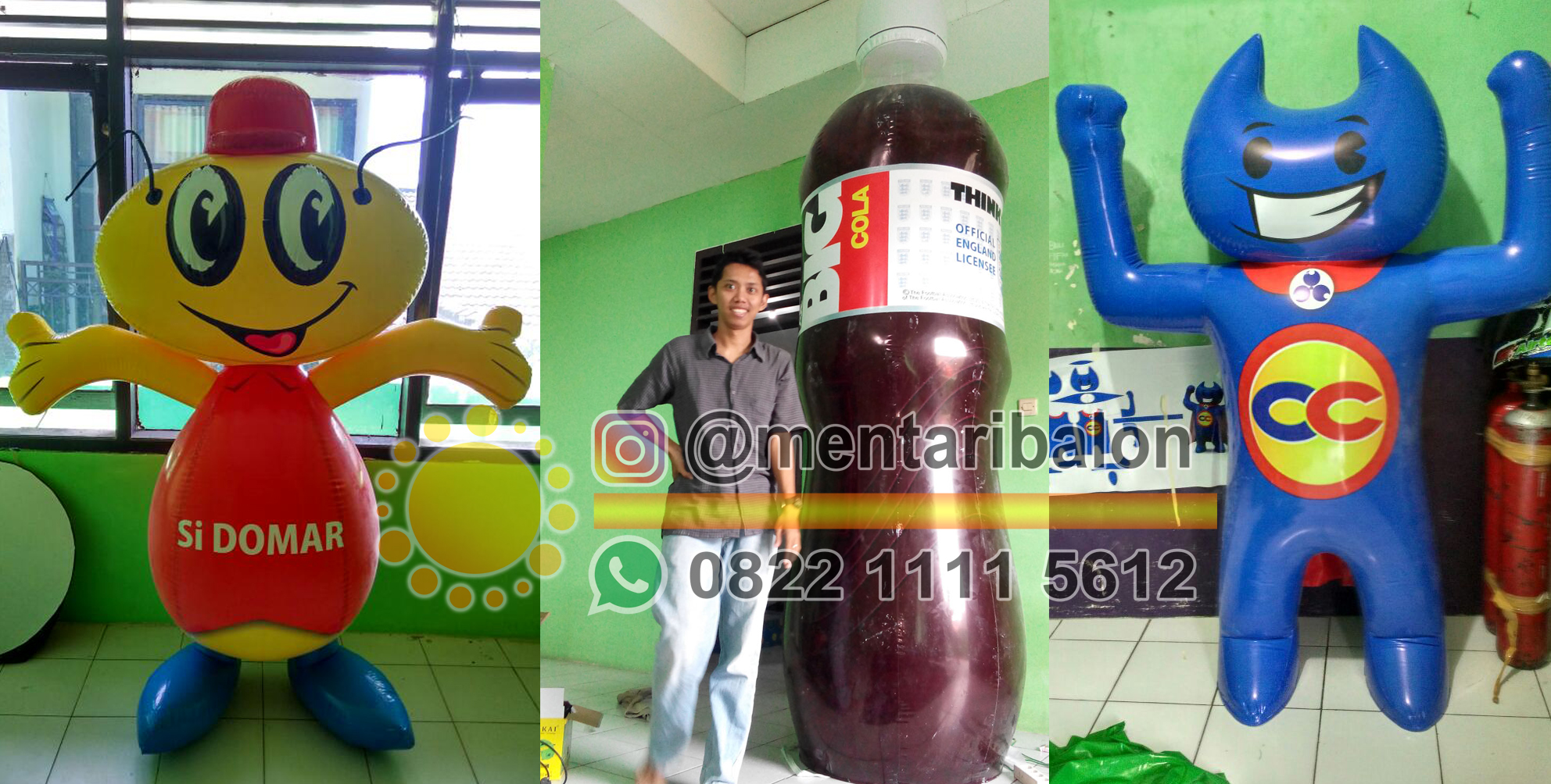 balon botol surabaya