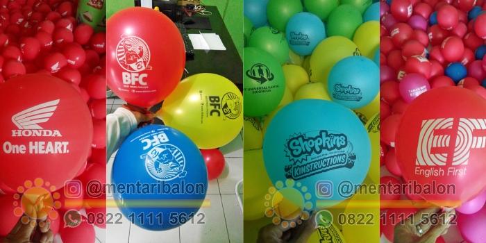 Jual Balon Sablon Surabaya / Balon Print Murah Jawa Timur