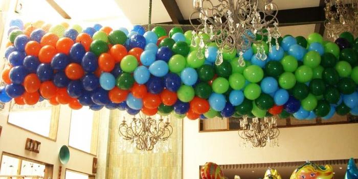 Dekorasi Balon Dropping / Pembuatan Balon Jaring