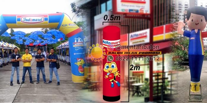 Jual Balon Indomaret & Balon Alfamart di Mentari Balon