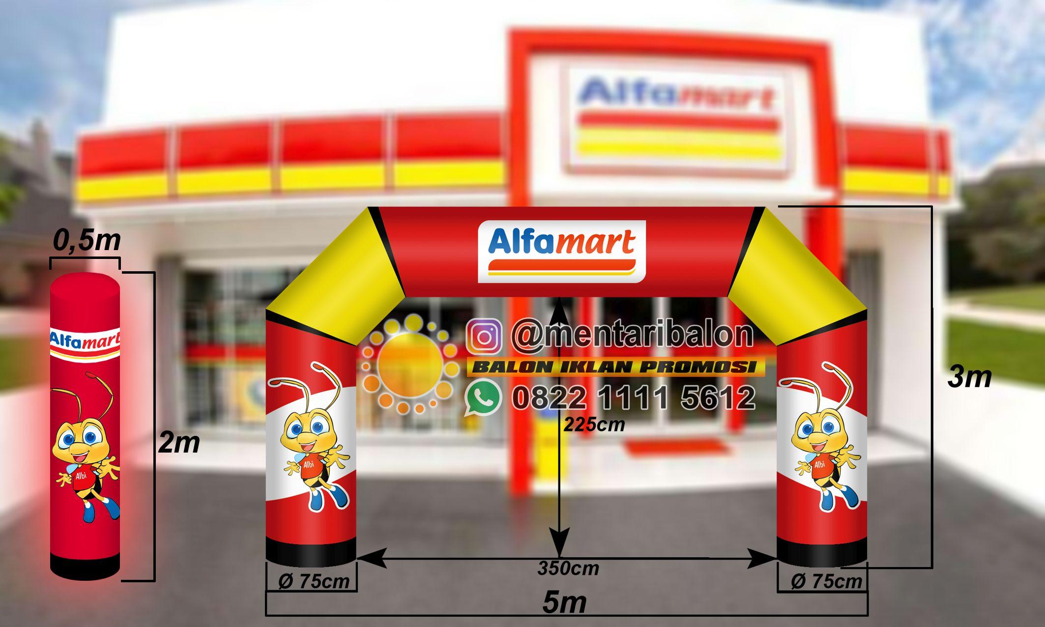 balon promosi alfamart