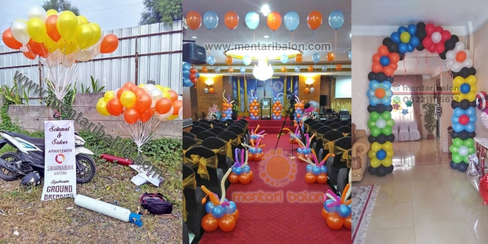 Dekorasi Balon Tangerang, Banten, Jabodetabek | Mentari Balon