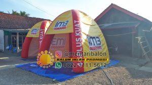 balon tenda branding indosat