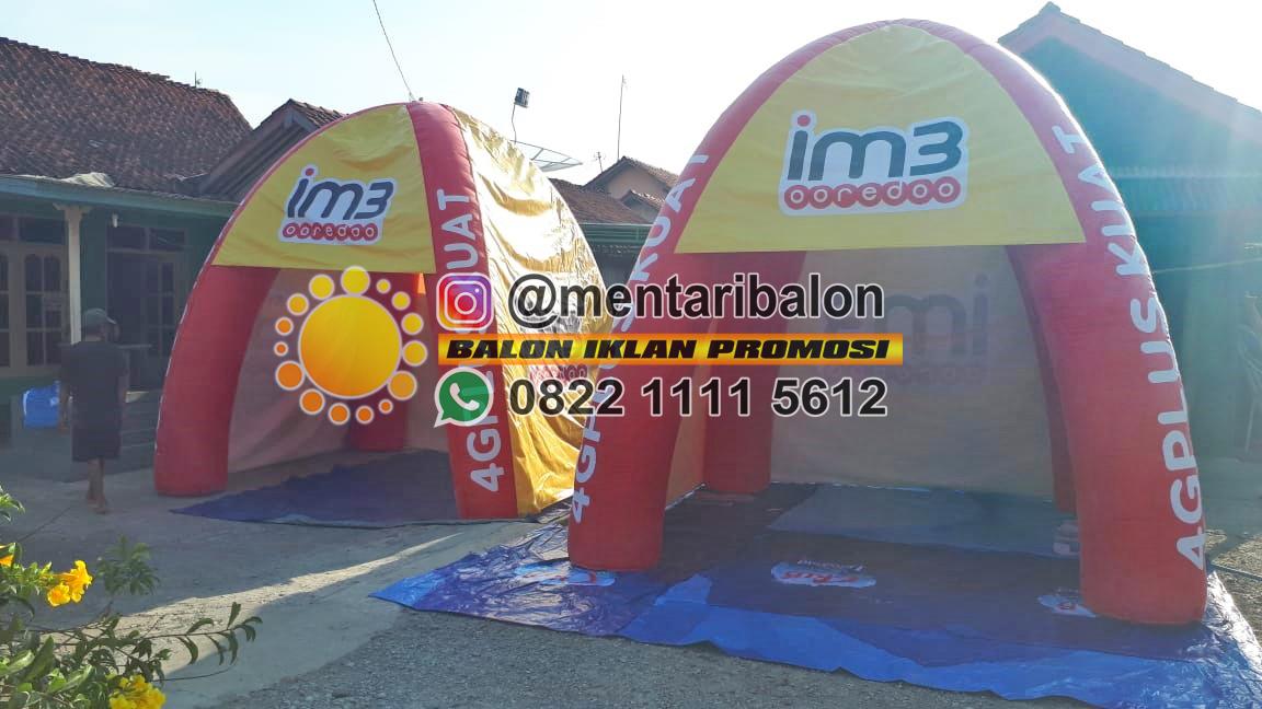 balon tenda indosat