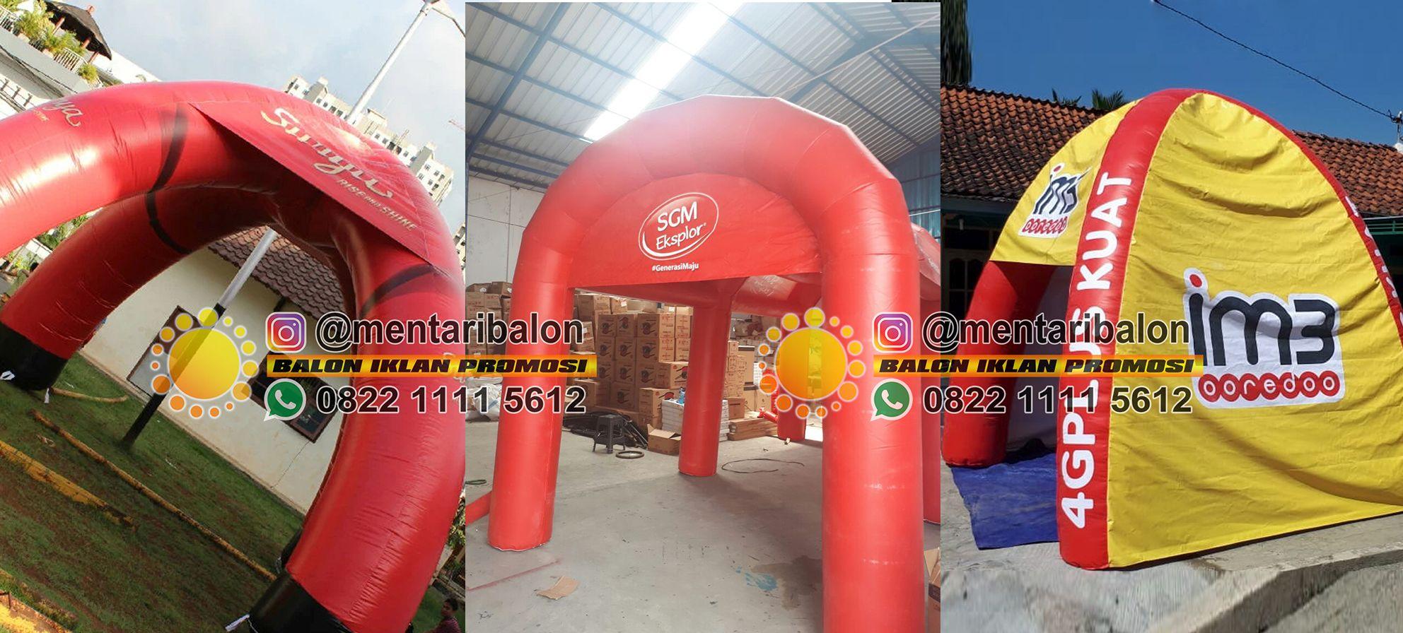 balon tenda promosi