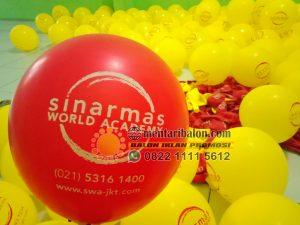balon print sinar mas