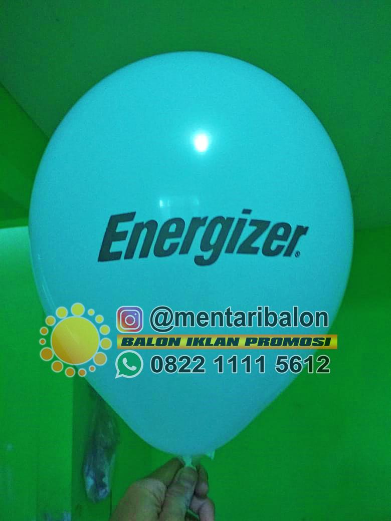 balon sablon energizer