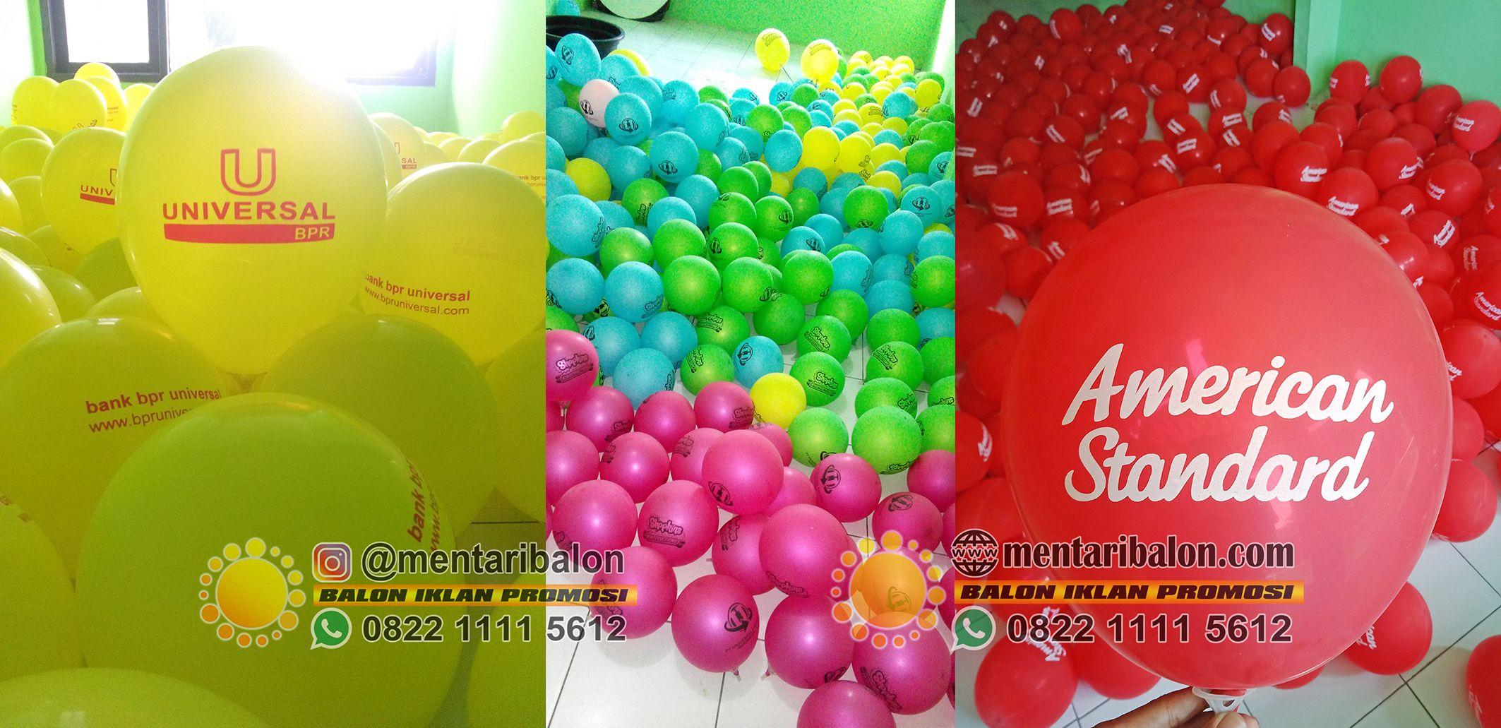 balon sablon promosi